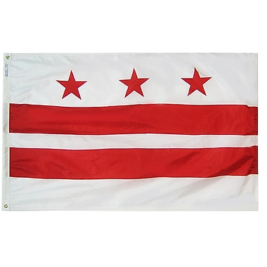 Annin Flagmakers District of Columbia Flag; 4' x 6'