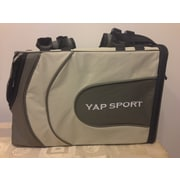 Yap USA Sports Backpack Pet Carrier; Grey/Beige