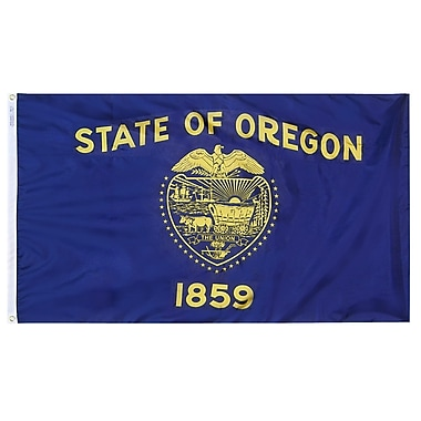 Annin Flagmakers Oregon State Flag; 4' x 6'