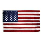 Annin Flagmakers Tough-Tex Woven Traditional US Flag; 5' x 8'