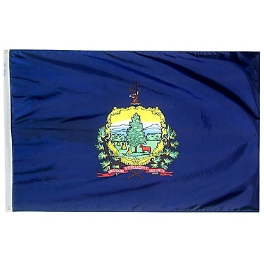 Annin Flagmakers Vermont State Flag; 3' x 5'