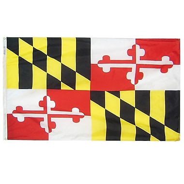Annin Flagmakers Maryland State Flag; 4' x 6'