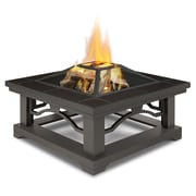 Real Flame Crestone Wood Burning Fire Pit; Brown