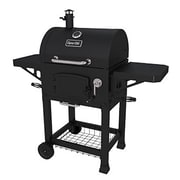 Dyna-Glo Charcoal Grill with Grates and Charcoal Door; Black Powder Coat