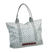 Logo Chairs NCAA Shopping Tote; Georgia