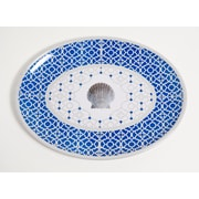 Galleyware  Company Yacht and Home Moroccan Shell Melamine Oval Platter