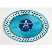 Galleyware  Company Yacht and Home Sand Dollar Melamine Oval Platter