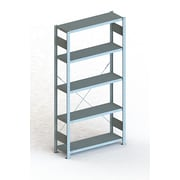 META Storage Solutions Inc. Clip S3 Basic Rack V230 73'' H Five Shelf Shelving Unit