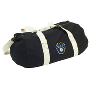 Logo Chairs MLB Cooperstown 22'' Travel Duffel; Milwaukee Brewers