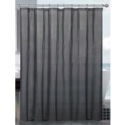 Dainty Home Mirage 3D Vinyl Shower Curtain Liner; Black