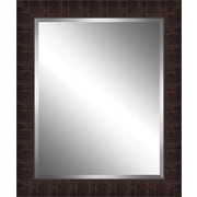 Ashton Wall D cor LLC Wood Framed Beveled Plate Glass Mirror; Large