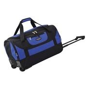 Travelers Club Adventure 20'' 2 Wheeled Carry-On Duffel; Blue