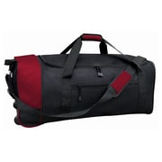 Travelers Club 32'' 2 Wheeled Duffel; Red