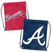Logo Chairs MLB Doubleheader Backsack; Atlanta Braves