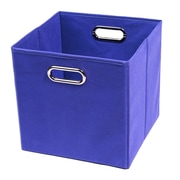 Modern Littles Bold Folding Cube Storage Bin; Blue
