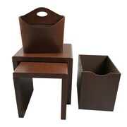 Upscale Designs by EMA 4 Piece Nesting Table
