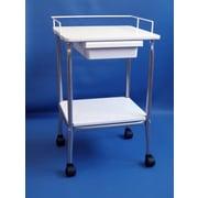 Brandt Industries Stand w/ wire frame and drawer; Walnut