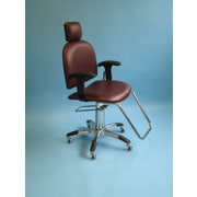 Brandt Industries Mammography Chair; Burgundy