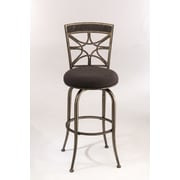 Hillsdale Chandler 30'' Swivel Bar Stool with Cushion