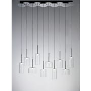 Axo Light Spillray 10 Light Chandelier; Metallic Bronze