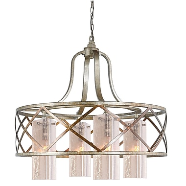 Woodbridge Braid 4 Light Chandelier