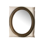KoleImports Antique Bronze Framed Oval Mirror
