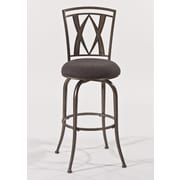 Hillsdale Crossgate 26'' Swivel Bar Stool with Cushion