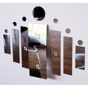 DesignArt Geo Shapes - Modern Mirror Wall Art Clock