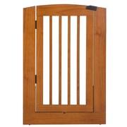 Camaflexi Individual Panel Pet Gate w/ Door; Cappuccino