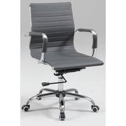 Chintaly High-Back Conference Chair; Grey