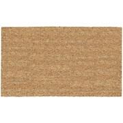 US Cocoa Mat DeCoir Solid Doormat; 16'' x 27''