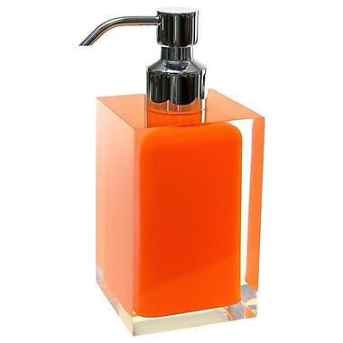 Gedy by Nameeks Rainbow Soap Dispenser; Orange