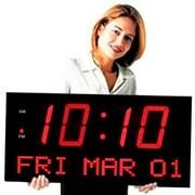Big Time Clocks 7'' LED Digits Clock