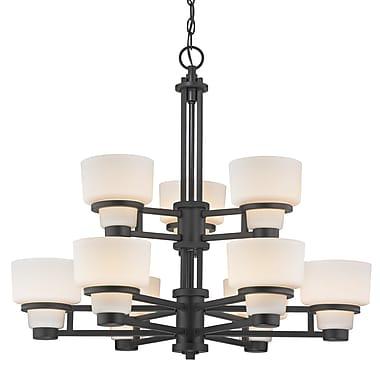Dolan Designs Saxon 9-Light Shaded Chandelier