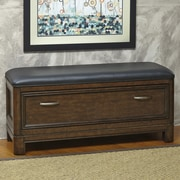 Home Styles Crescent Hill Upholstered Bedroom Bench