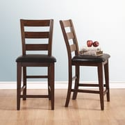 Kingstown Home Afra 23'' Bar Stool with Cushion (Set of 2)