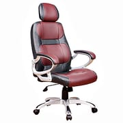 Chintaly High-Back Executive Chair with Headrest