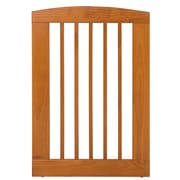 Camaflexi Single Panel Pet Gate; Chestnut