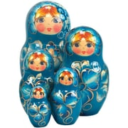 G Debrekht Russian 5 Piece Natasha Nested Doll Set