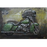 Yosemite Home Decor Metal Artwork Ride With Me II Painting Print on Metal