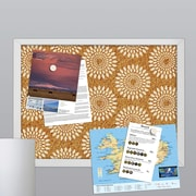 WallPops! Catalina Printed Cork Board Wall Mural