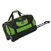 Travelers Club Adventure 20'' 2 Wheeled Carry-On Duffel; Green