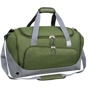 Travelers Club Xpedition 21'' Duffel; Green w/ Gray Trim