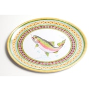 Galleyware  Company Yacht and Home Trout Melamine Oval Platter