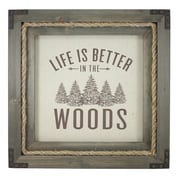 Fetco Home Decor Millham Better in the Woods Picture Frame