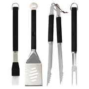 Mr. Bar-B-Q 4 Piece Plastic Finger Grip Grilling Tool Set