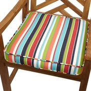 Mozaic Company Outdoor Sunbrella Dining Chair Cushion; 20'' W x 20'' D