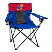 Logo Chairs NCAA Elite Chair; Kansas