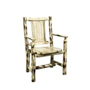 Montana Woodworks  Montana Arm Chair; Lacquered