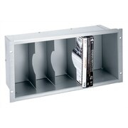 Middle Atlantic DVD Holder; Black Anodized